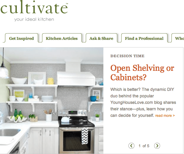 Cultivate Open Shelves vs. Cabinets by Virginia Sole-Smith