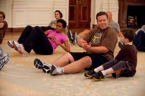 Michelle Obama on The Biggest Loser