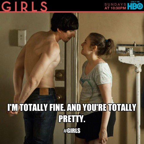 Lena Dunham GIRLS HBO